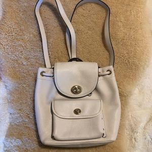 Coach Billie Mini Backpack Ivory